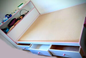 Storage Double Bed with drawers