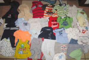 Lot of 3-6 month Boy Clothes in good condition