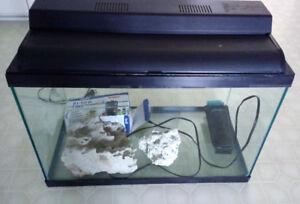 Larger Sized Aquarium with Accessories