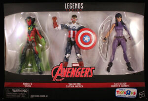 wanted Marvel action figure packs and other toys