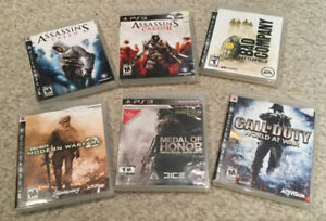 PS3 GAMES – barely used