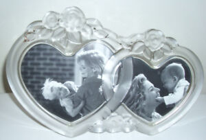 Rosemont Double Heart Picture Frame