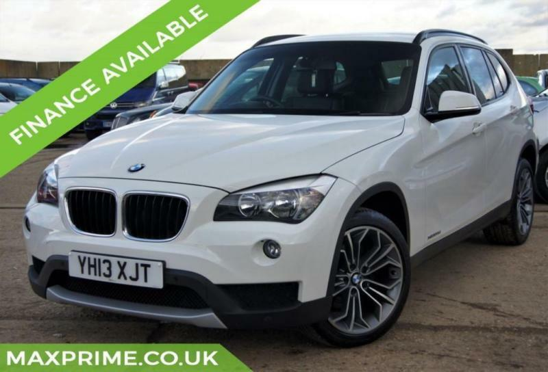 2013 BMW X1 2.0 XDRIVE20D 4X4 SE WHITE 181BHP 6SPD 1 OWNER + FULL BMW HISTORY