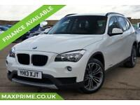 2013 BMW X1 2.0 XDRIVE20D SE WHITE 181BHP 6SPD 1 OWNER + FULL BMW HISTORY