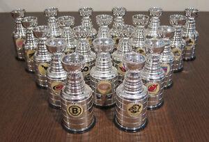 1999 Labatt Miniature Stanley Cups Lot