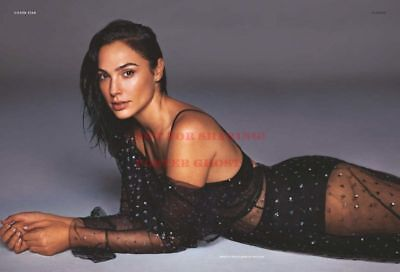 36 x 24 2 GAL GADOT Poster Celebrity Hollywood Poster