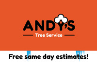 WINTER TREE SERVICE! Great Rates 905-244-8733 Andy's Tree