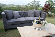 Brand New Chesterfield Sofa-2.5 seater sofa lounge Byron Bay Byron Area Preview