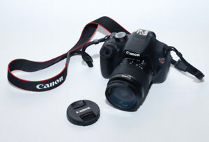 Canon Rebel T5 Camera with 18-55mm EF-S lens