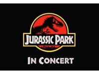 Jurassic Park In Concert Sheffield City Hall Sunday 13th sept