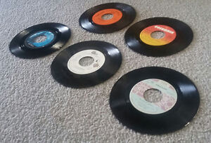 Chicago - Lot of (5) 45's