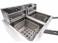 Commercial Deep Fat Fryers - Electric - Brand New