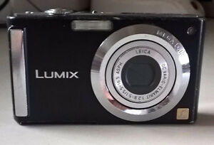 Panasonic LUMIX DMC-FS3 8.1 Mp Digital Camera - Black