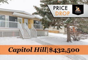 INVESTMENT OPPORTUNITY! RENOVATED SUITED CAPITOL HILL HOME