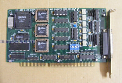 Pcl-833 3-axis Quadrature Encoder And Counter Card Rev.a1 Used 100 Test