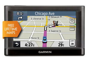 "Garmin nuvi 44LM  4.3"" Portable GPS w/ Free Lifetime Maps."