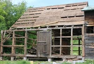 Échange service de démolition contre grange