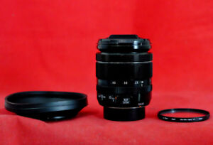 Fujifilm 18-55 XF OIS f2.8-4 Lens w UV Filter, End Caps, Hood