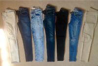 CUTTING DOWN ON MY JEAN COLLECTION (size 00,0,2)