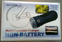 Best Environmental gift: Multi-Function Charger Non-Battery