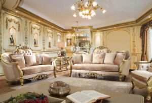 Rococo Living Room Set for Sale - Brand New!