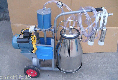 New Electric Milking Machine For Cows or Sheep 110v/220v