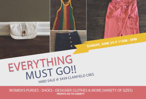 Yard Sale - Women's designer clothing, shoes, purses and more!