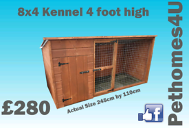 Dog kennels and runs various sizes