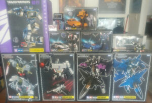 Transformers-Masterpiece, Combiner Wars and Misc Collection Used