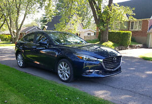 2017 fully loaded Mazda 3 GT (Amazing deal!)+ Wear/Tear warranty
