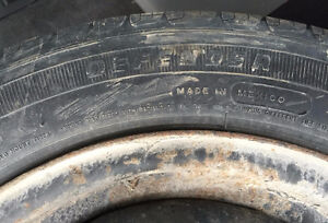 """14"""" Steel Wheels 4x100 5.5Jx14 With Tires 175/65R14 Stratford Kitchener Area image 5"""