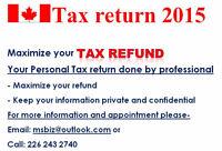 EFILE / Personal Tax Return - few days left