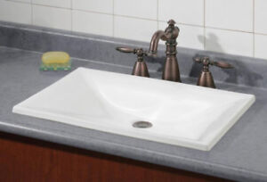 "CHEVIOT ESTORIL Drop-in Sink: 22"" x 15"""
