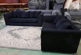 Brand new sofa 3+2 set availble in grey black and cream