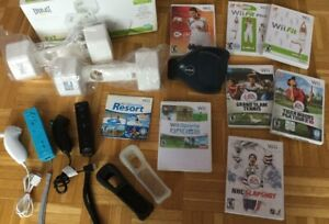 Wii Sports Resort, Manettes, jeu Active, Wii Fit, Nunchuck