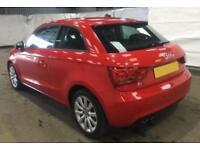 2011 RED AUDI A1 1.4 TFSI SPORT PETROL MANUAL 3DR CAR FINANCE FR £33 PW