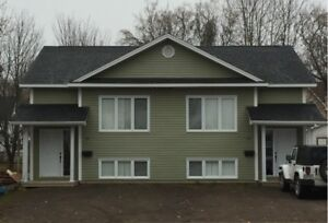 Duplex for Rent Mill rd, Moncton. Avail.  August 1st
