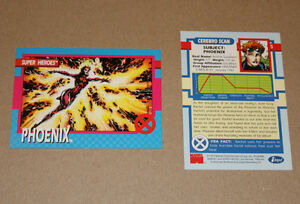 Impel Super Heroes trading cards