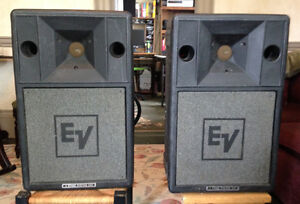 2 - Electro Voice S200 Speakers