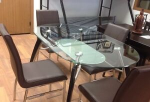 Brand new 5 pc dinette set on sale $698 only+FREE DELIVERY  Regina Regina Area image 3