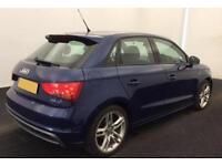 Audi A1 1.6TDI ( 105ps ) Sportback 2013MY S Line FROM £51 PER WEEK!
