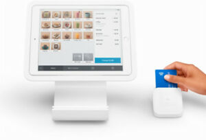 Square Stand for contactless + chip for Apple iPad