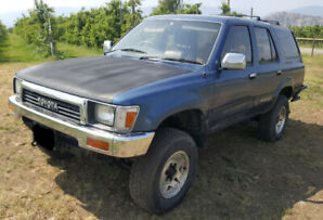 '91 Hilux Surf / Toyota 4Runner  4x4 Pick Up trades?