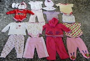 6-12 MONTHS BABY GIRL'S CLOTHING ALL FOR $5