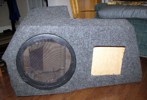 Custom Made Speaker Box for Neon, Plus Speaker and Amp