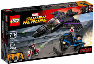 LEGO MARVEL 76047 Black Panther Pursuit BRAND NEW SEALED!!!