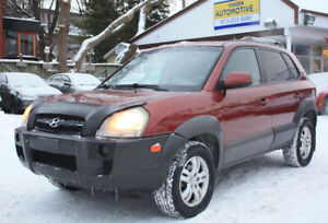 2008 Hyundai Tucson AUTO**LEATHER**SUNROOF**extra clean