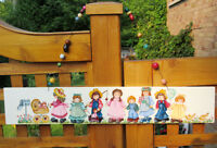 Tole Painted Wood Sign - GRAMA'S HOUSE - Parade of Children