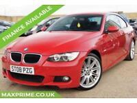 BMW 3 SERIES 2.0 320I M SPORT 2D 170BHP FULL SERVICE HISTORY + JUST SERVICED