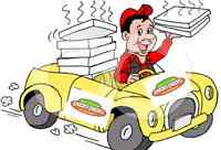 Pizza delivery
